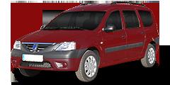 Dacia Logan MCV (SD/SR) 2006 - 2009 Logan Kombi 1.4