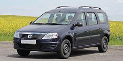 Dacia Logan MCV (SD/SR/Facelift) 2009 - 2013 Logan Kombi 1.1