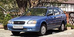 Baleno Wagon (EG/Facelift) 1997 - 2002