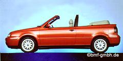 Golf Cabrio (1E, 1EX0/Facelift) 1998 - 2002