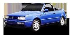 Golf Cabrio (1E, 1EX0) 1993 - 1998