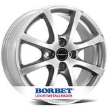 Borbet LV4 5.5x15 ET45 4x100 64